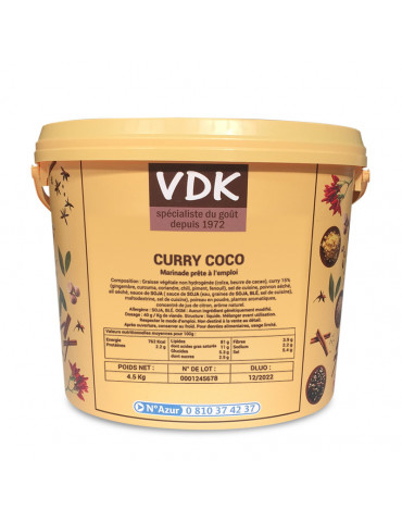 CURRY COCO 4.5KG