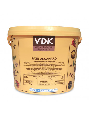 PÂTÉ DE CANARD